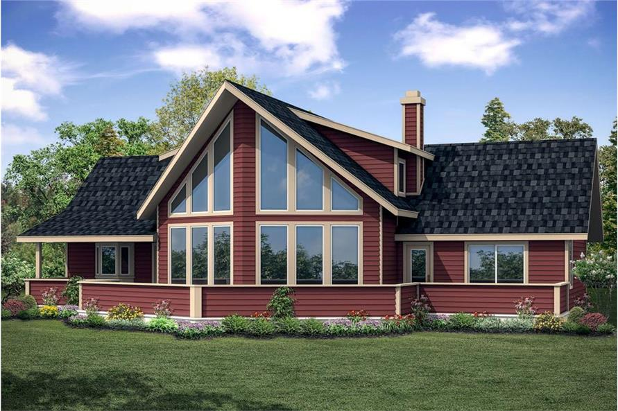3-Bedroom, 2063 Sq Ft Vacation Homes Home Plan - 108-1853 - Main Exterior