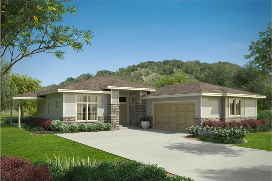 Home Plan Rendering of this 3-Bedroom,2294 Sq Ft Plan -108-1856