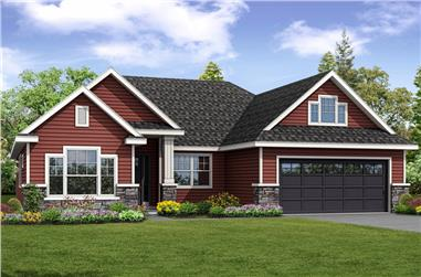 3-Bedroom, 2150 Sq Ft Country Home - Plan #108-1857 - Main Exterior