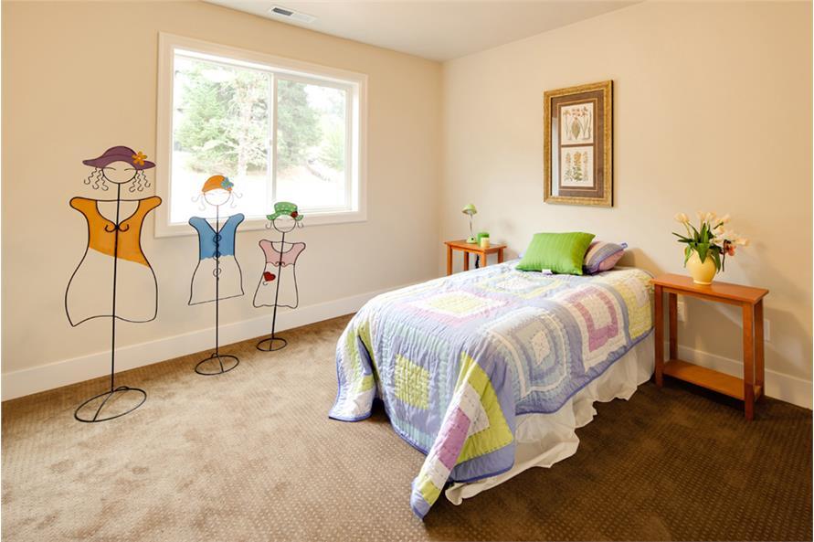Bedroom of this 3-Bedroom,2013 Sq Ft Plan -2013