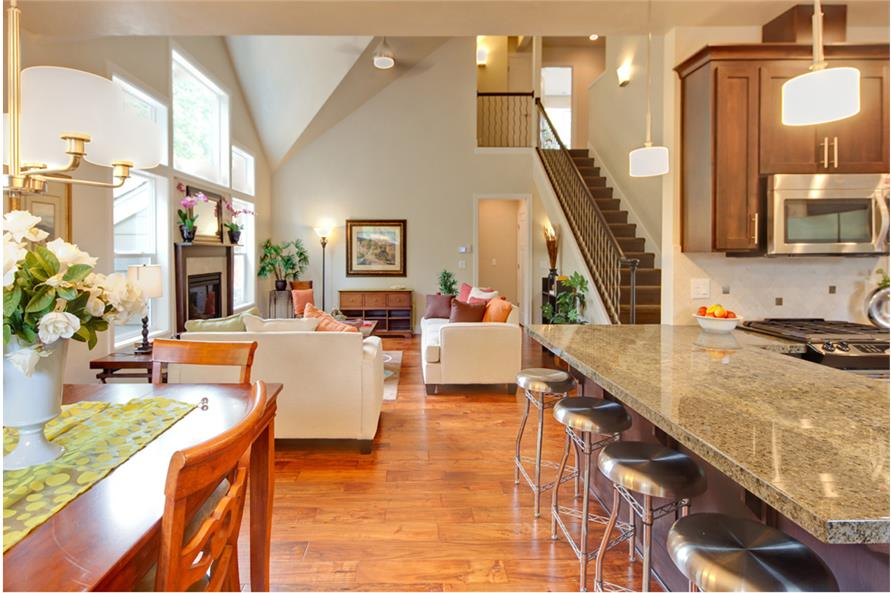 Great Room of this 3-Bedroom,2013 Sq Ft Plan -2013
