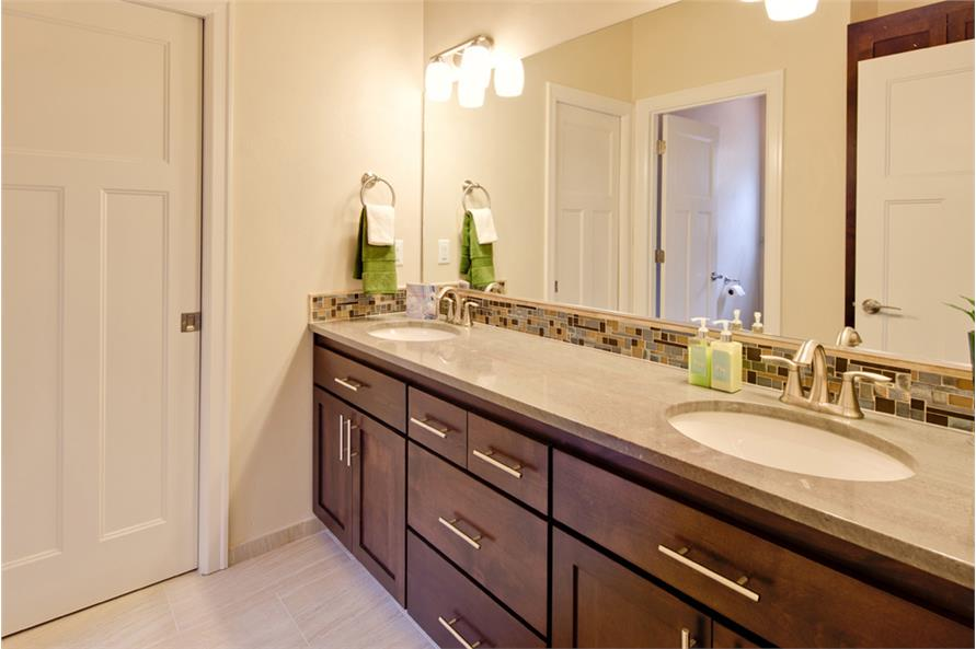 Master Bathroom of this 3-Bedroom,2013 Sq Ft Plan -2013