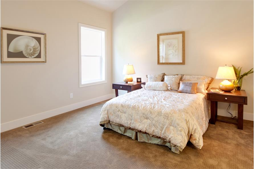 Master Bedroom of this 3-Bedroom,2013 Sq Ft Plan -2013