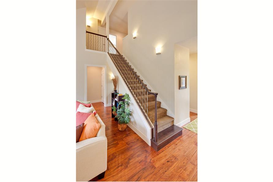 Entry Hall: Staircase of this 3-Bedroom,2013 Sq Ft Plan -2013