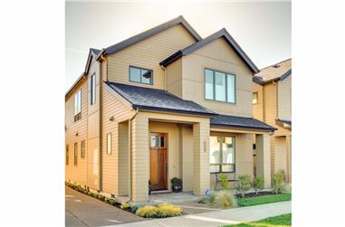 3-Bedroom, 1688 Sq Ft Contemporary Home Plan - 108-1903 - Main Exterior