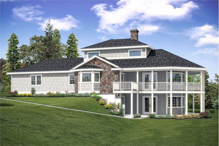 2-Bedroom, 1750 Sq Ft Cottage Home Plan - 108-1906 - Main Exterior