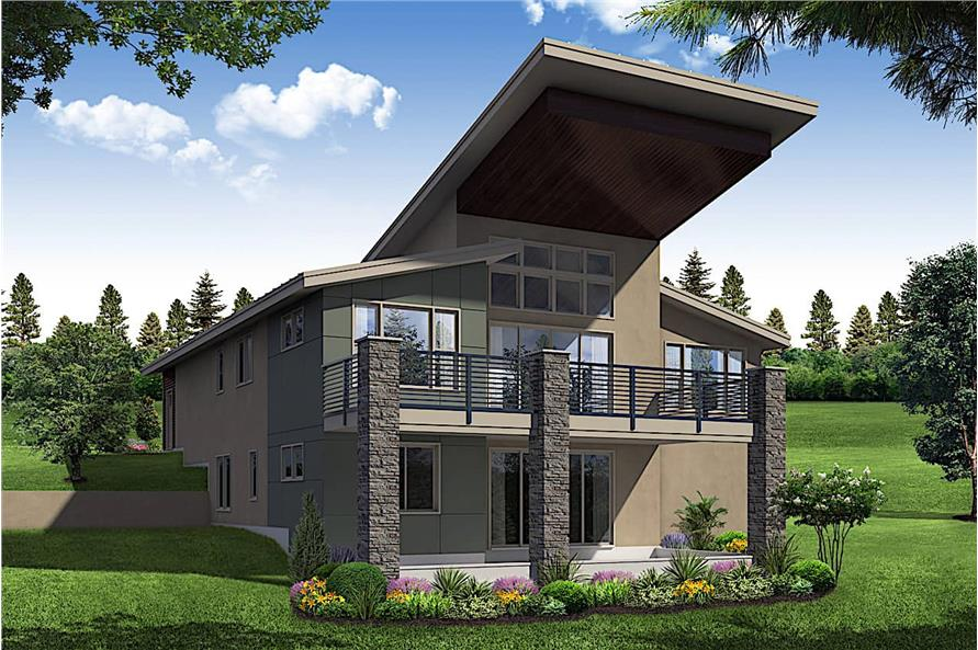 Home Plan Rendering of this 4-Bedroom,2928 Sq Ft Plan -2928