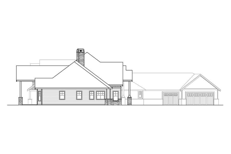 Craftsman House 4 Bedrms 4 5 Baths 5558 Sq Ft Plan 108 1940