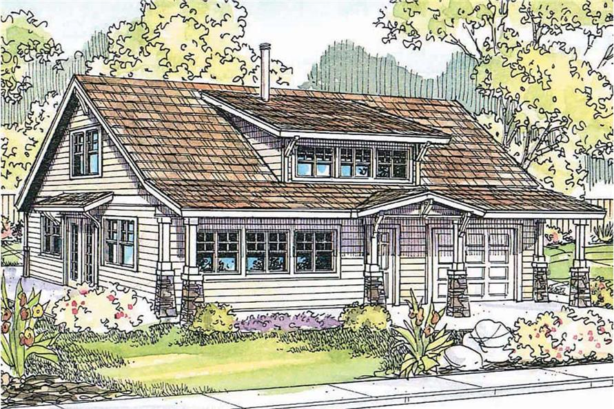 2-Bedroom, 1822 Sq Ft Country Home - Plan #108-1956 - Main Exterior