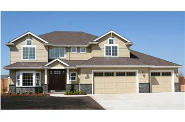 4-Bedroom, 2887 Sq Ft Traditional Home - Plan 108-1957 - Main Exterior
