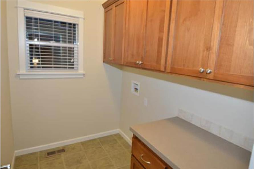 Laundry Room of this 4-Bedroom,1716 Sq Ft Plan -1716
