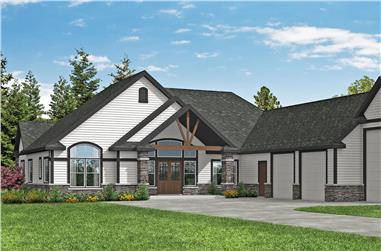 2–4-Bedroom, 2652 Sq Ft Ranch Home - Plan #108-1971 - Main Exterior