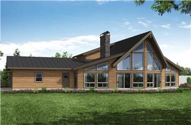 2-Bedroom, 3120 Sq Ft Vacation Style Home - Plan #108-1972 - Main Exterior