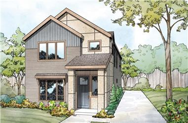 3-Bedroom, 2219 Sq Ft Southern Home Plan - 108-1984 - Main Exterior