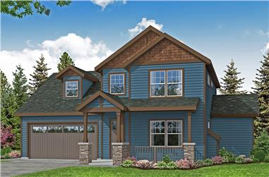 4-Bedroom, 1780 Sq Ft Farmhouse House - Plan #108-2003 - Front Exterior