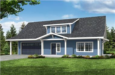 3-Bedroom, 2426 Sq Ft Country House - Plan #108-2008 - Front Exterior