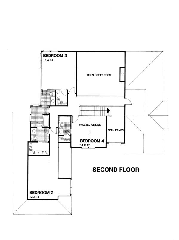Cape Cod European Home With 4 Bedrms 3264 Sq Ft Plan
