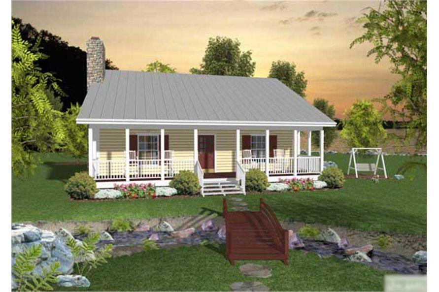 house plans with large rear porches - House Plans With Porches