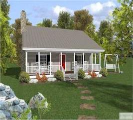 House Plan #109-1010
