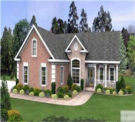 House Plan #109-1011