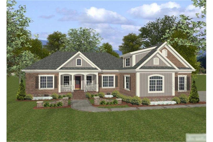 Craftsman home plans 2000 square feet for 2000 sq ft craftsman house plans