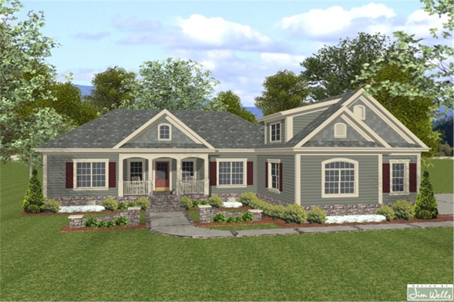 109-1015: Home Plan Rendering