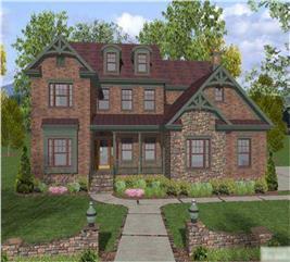 House Plan #109-1021