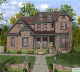 House Plan #109-1022
