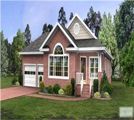 House Plan #109-1026