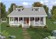 View house Plan#109-1029