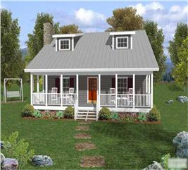 House Plan #109-1029