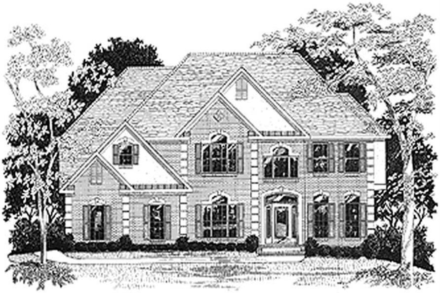 Main image for house plan # 14498