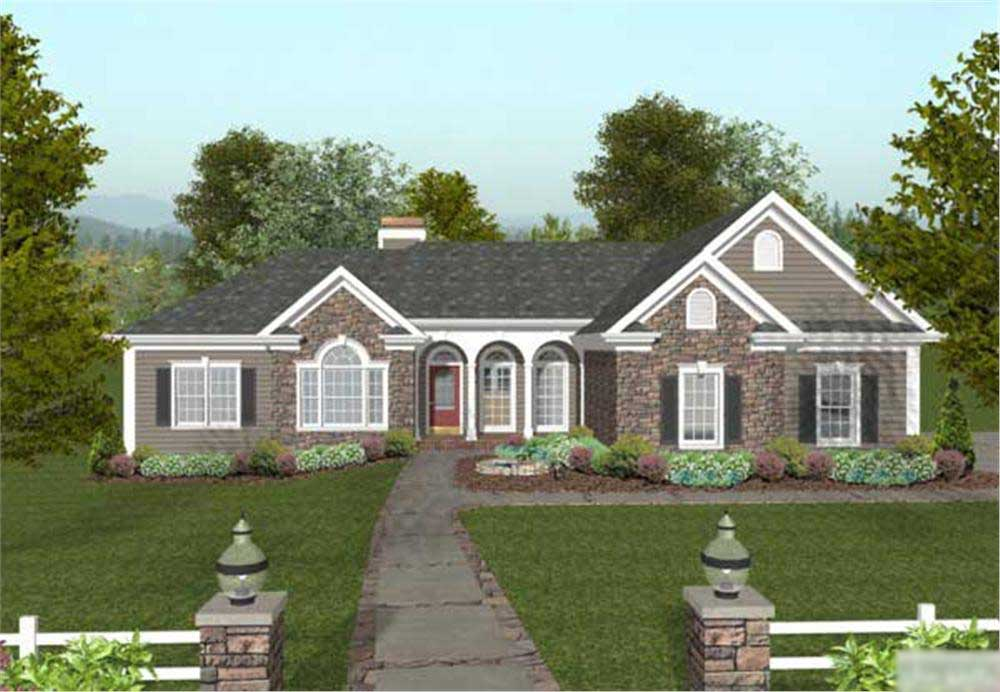 Country Craftsman Home With 4 Bedrms 2000 Sq Ft Plan 109 1049