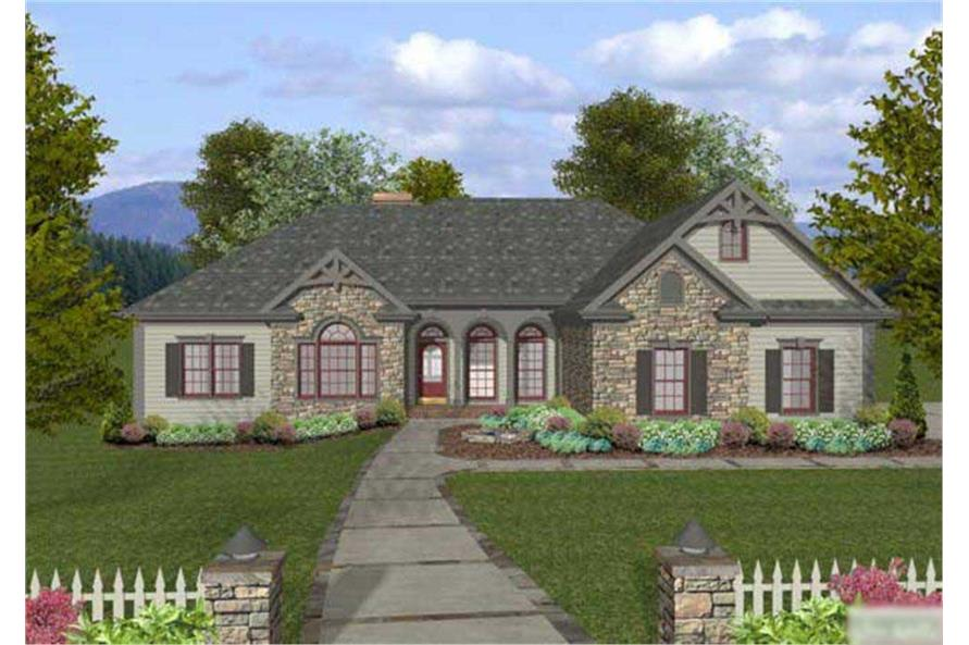 Craftsman Home With 4 Bedrms 2000 Sq Ft House Plan 109