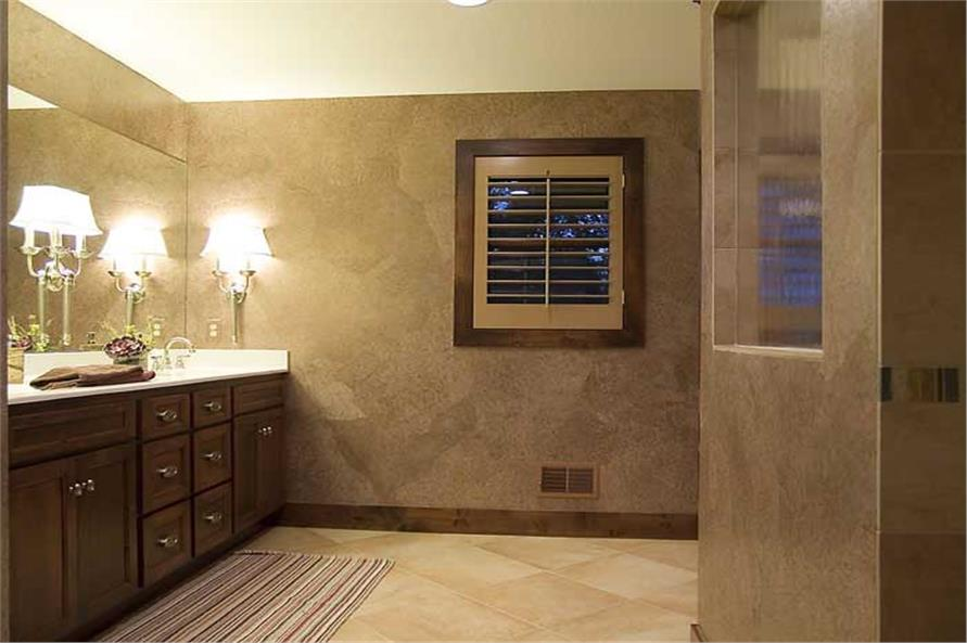 Master Bathroom of this 4-Bedroom,3770 Sq Ft Plan -3770