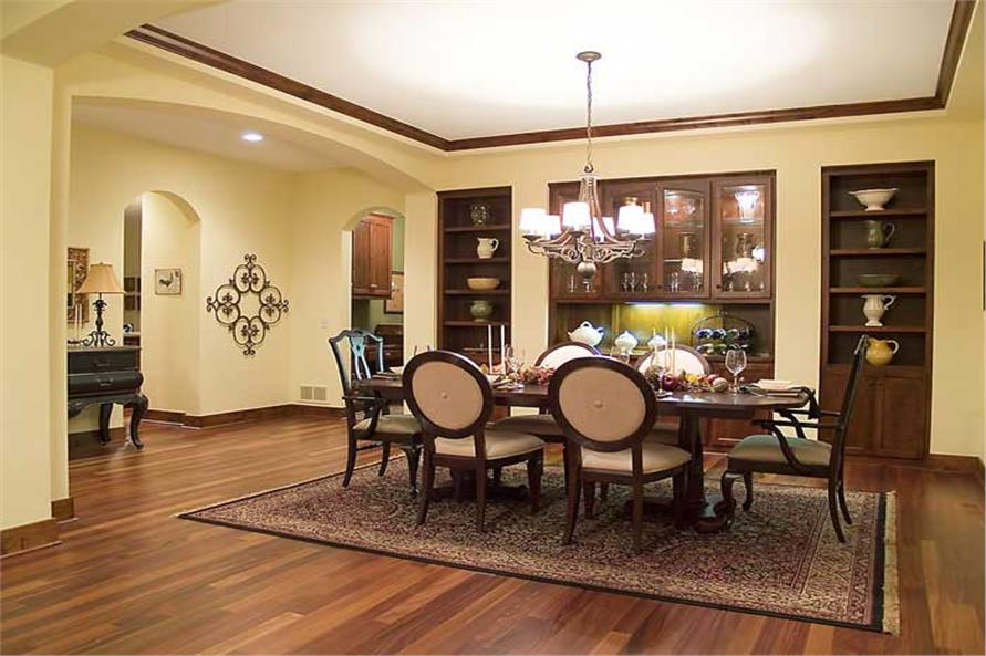 Dining Room of this 4-Bedroom,3770 Sq Ft Plan -3770
