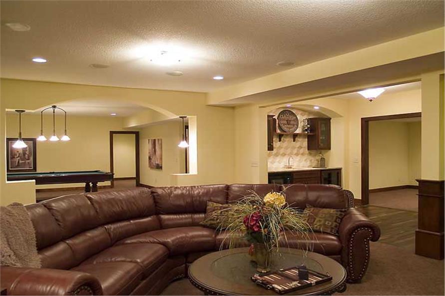 109-1056: Home Interior Photograph-Media Room