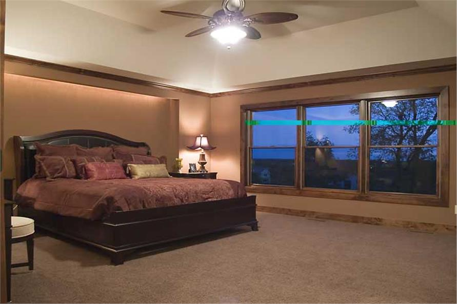 Master Bedroom of this 4-Bedroom,3770 Sq Ft Plan -3770