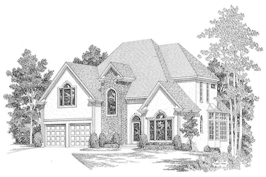 Main image for house plan # 14507