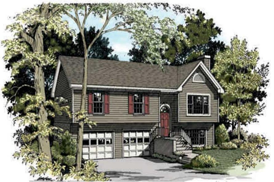 Main image for house plan # 14398