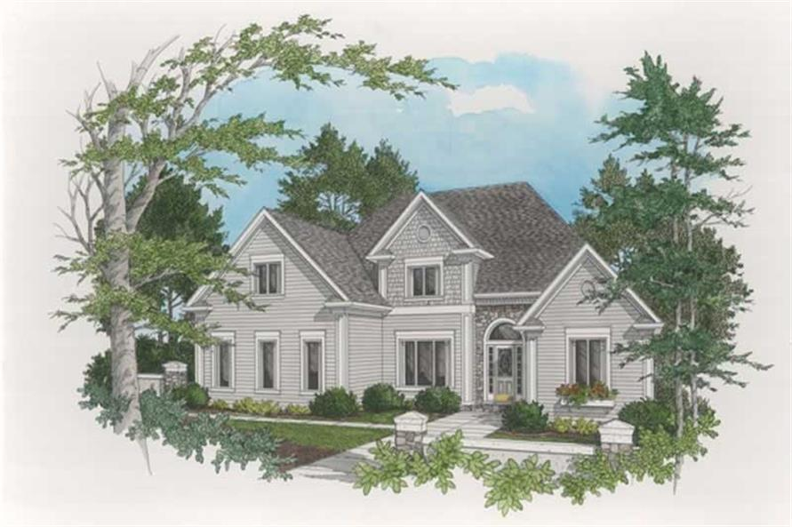Main image for house plan # 14499