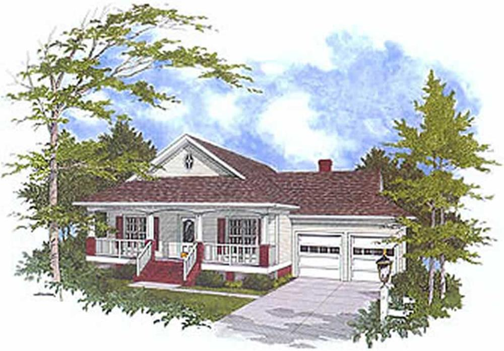 Main image for house plan # 14422