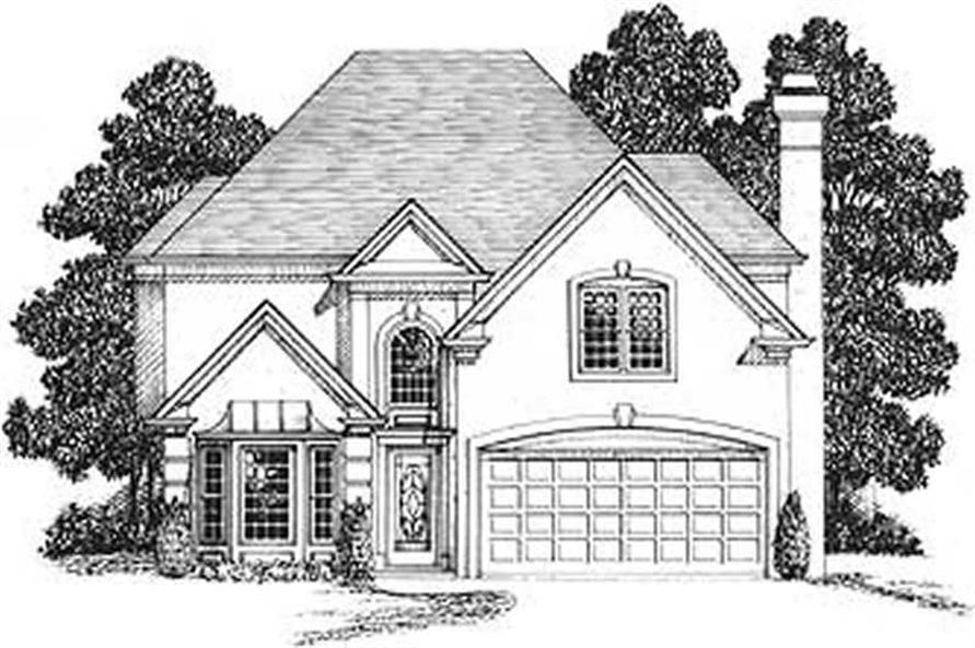 Main image for house plan # 14440