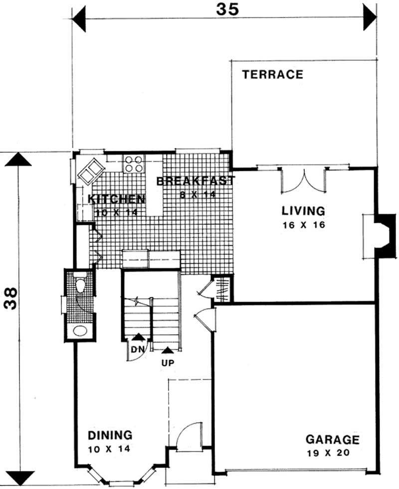 Craftsman traditional home with 3 bedrms 2087 sq ft for 1077 marinaside crescent floor plan