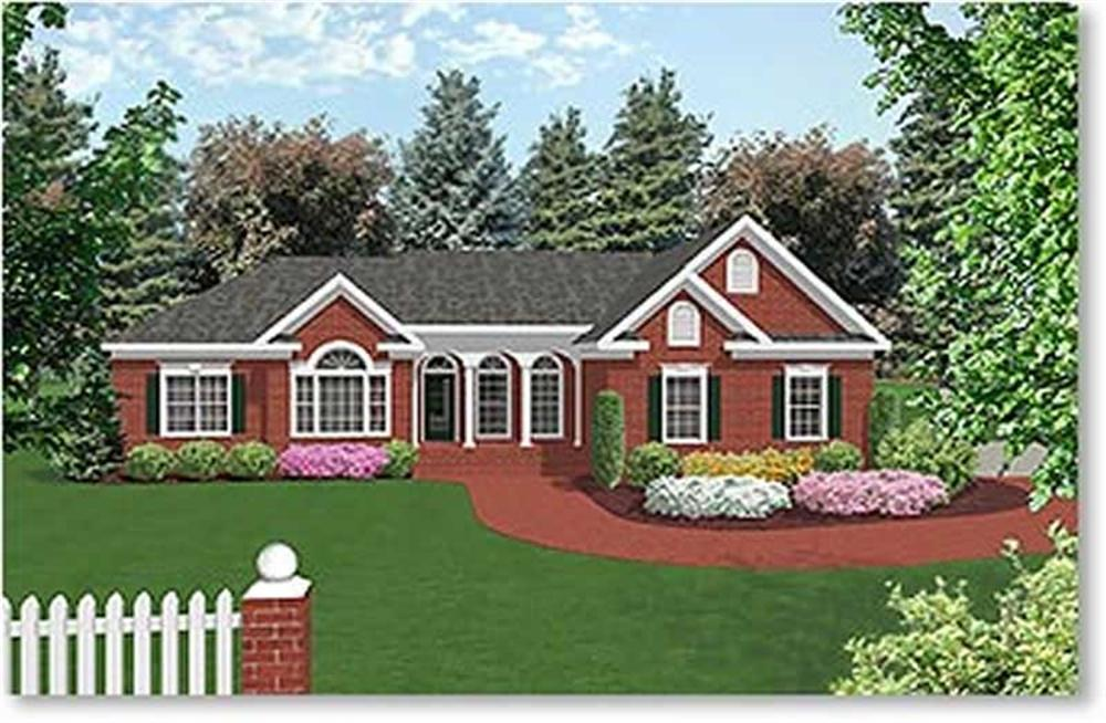 Main image for house plan # 14433