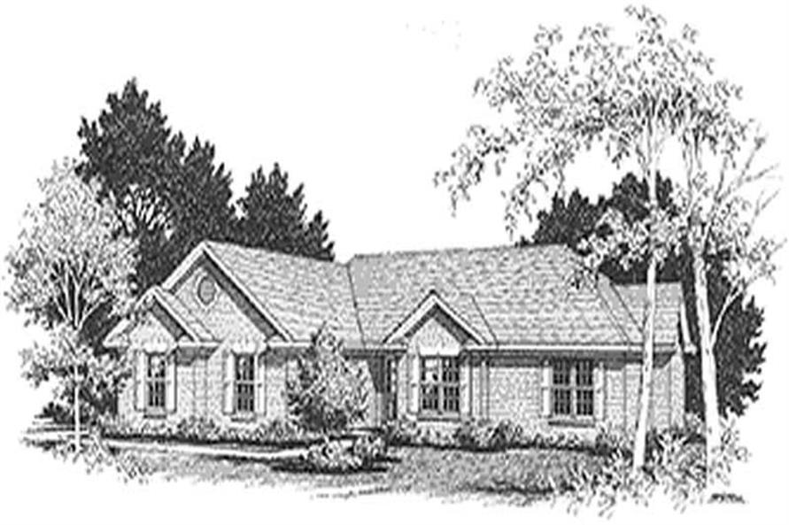 Main image for house plan # 14405