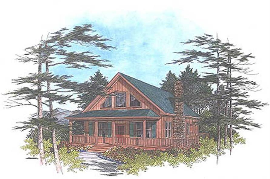 Main image for house plan # 14414