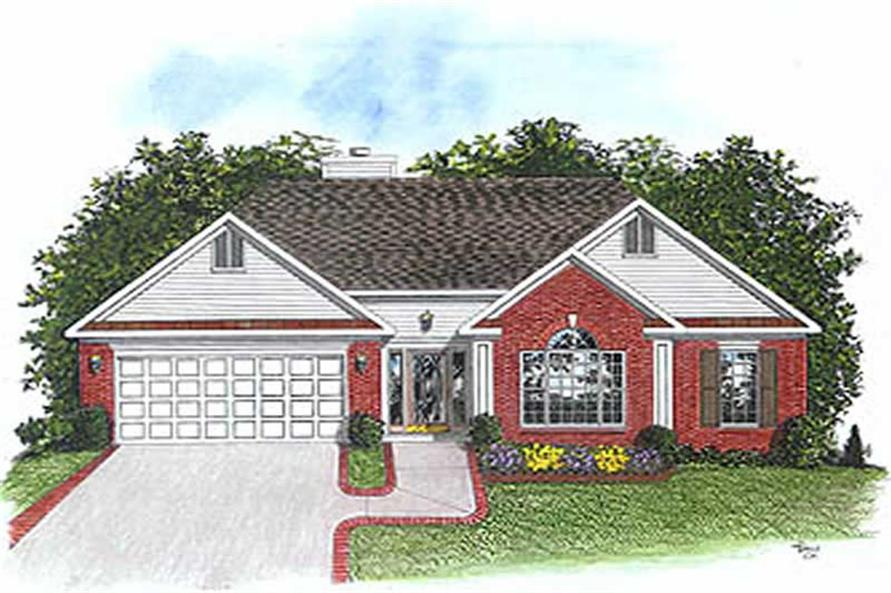 Main image for house plan # 14408