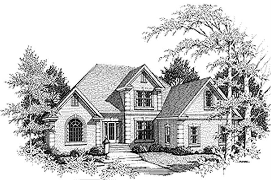 Main image for house plan # 14486