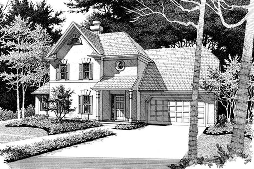 Home Exterior Photograph of this 3-Bedroom,2333 Sq Ft Plan -109-1097
